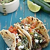 Chili-Rubbed Steak Tacos With Chimichurri