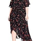 City Chic Fall in Love Floral Maxi Dress