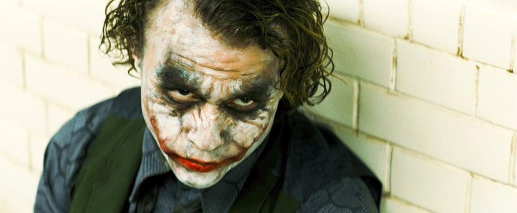 Heath Ledger Getting Hit in The Dark Knight Movie