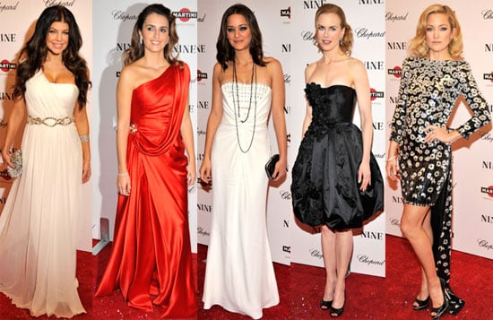 Photos of Penelope Cruz, Kate Hudson, Nicole Kidman, Madonna and More at NYC Premiere of Nine