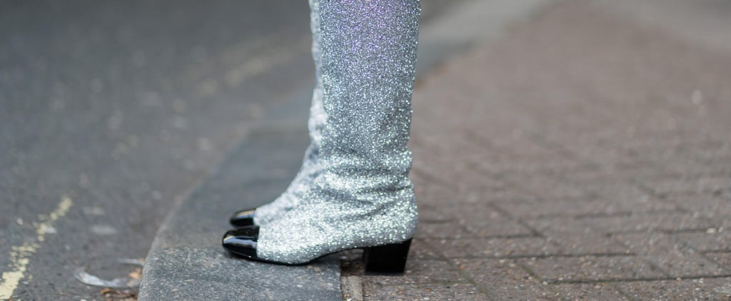 If Dorothy Needed an Autumn Update For Her Ruby Shoes, These Glitter Boots Would Be Top