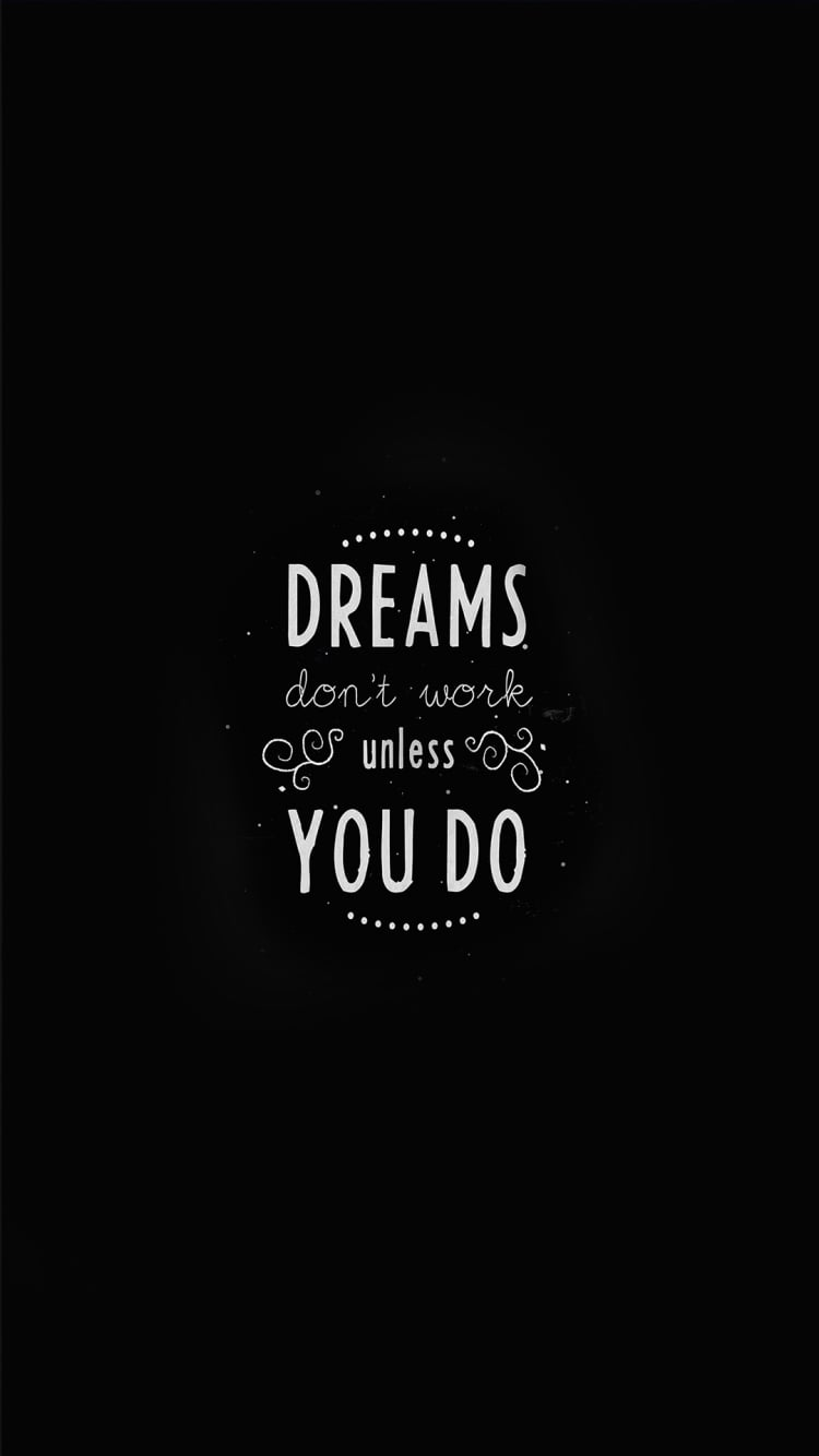 Inspirational Wall Quotes - Dream/Work