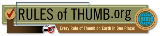 Website of the Day: Rules of Thumb