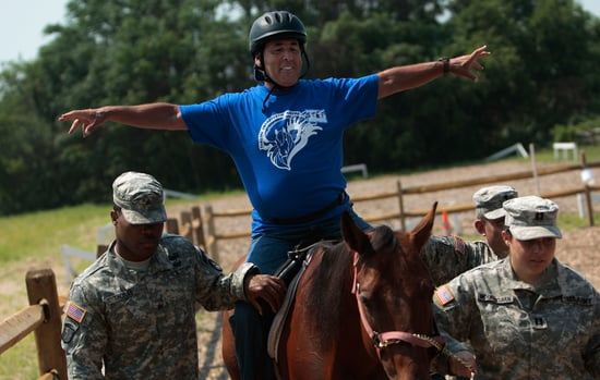 Farm Offers Horseback Riding Therapy For Vets with PTSD