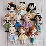 Disney Princess Doll 10 Pattern Bundle