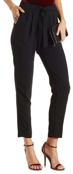 Tie Waist Draped Trousers ($27)
