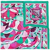 Emilio Pucci Floral Print Scarf ($645)