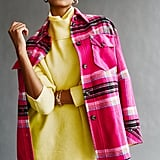 We the Free Down For You Plaid Shirt Jacket