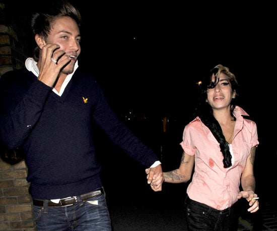Slide Photo of Amy Winehouse With New Boyfriend