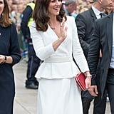 Kate's Alexander McQueen Coat Dress