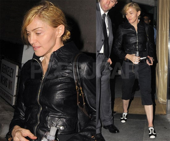 Photos of Madonna in London
