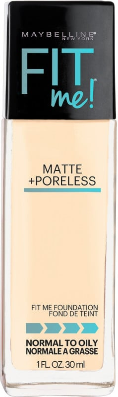 Maybelline Fit Me Matte + Poreless Foundation ($8) comes in 24 shades.