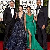 Channing Tatum, Jenna Dewan Tatum, Jada Pinkett Smith, and Will Smith