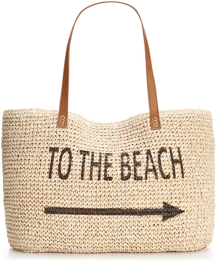 Style & Co. Straw Beach Bag ($63)