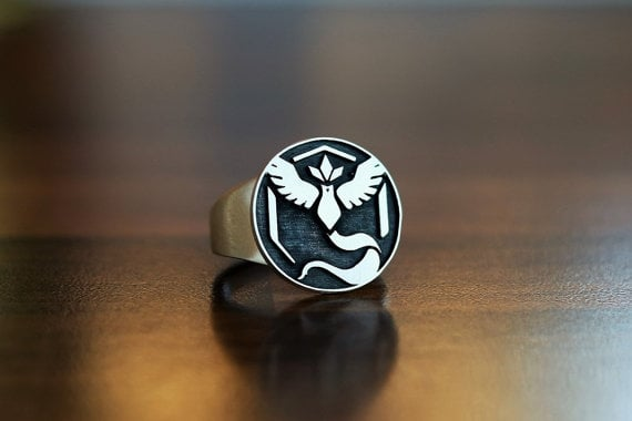 Pokémon Team Mystic Silver Ring