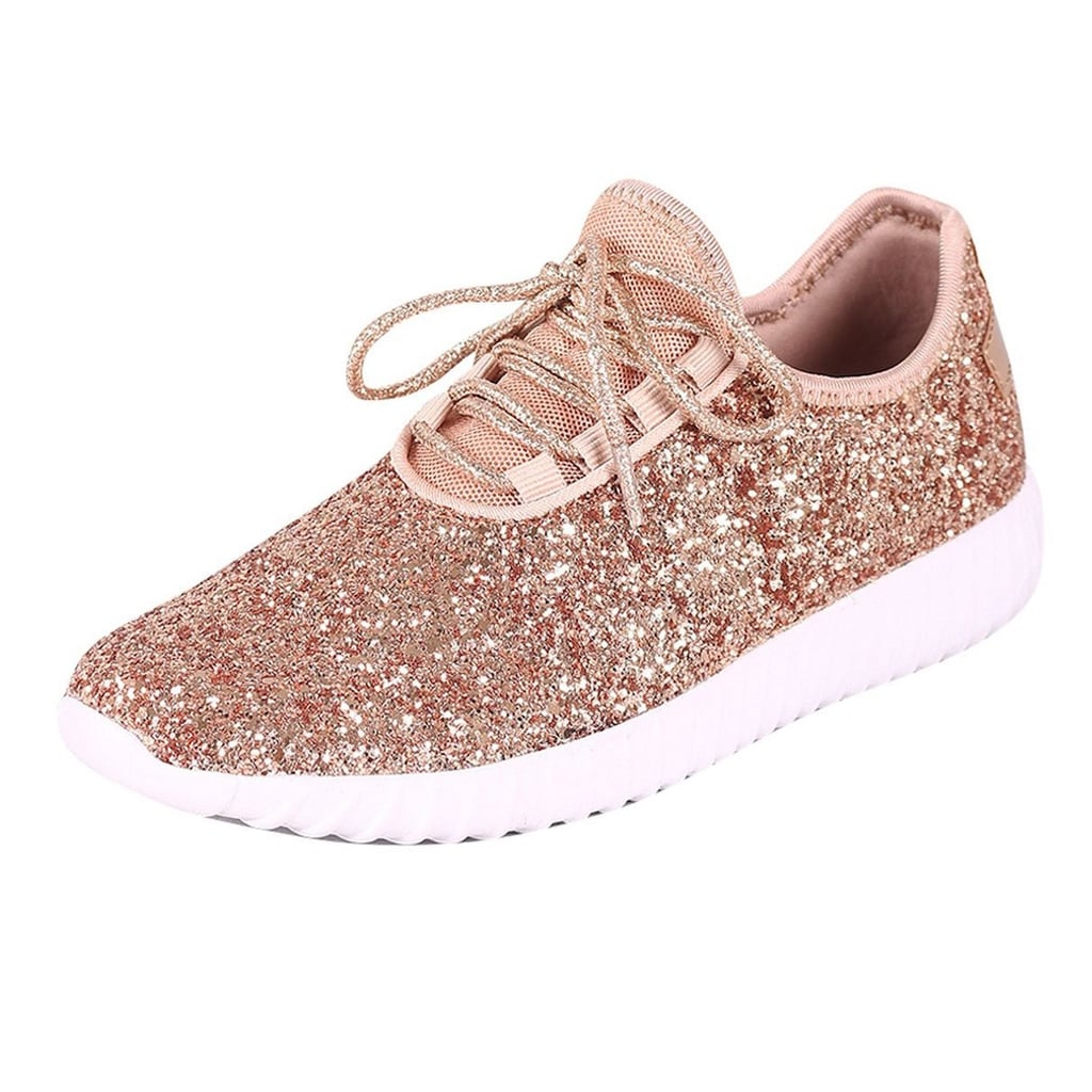 Rose Gold Sneakers on Amazon