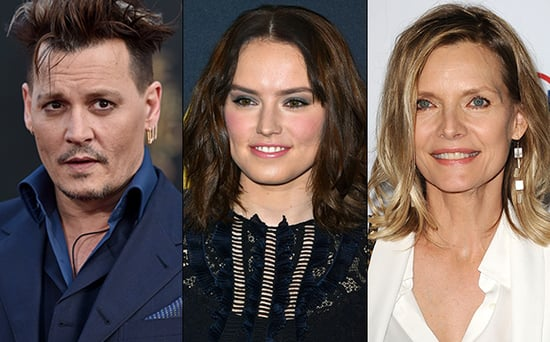 FROM EW: Johnny Depp, Daisy Ridley, Michelle Pfeiffer Join Murder on the Orient Express