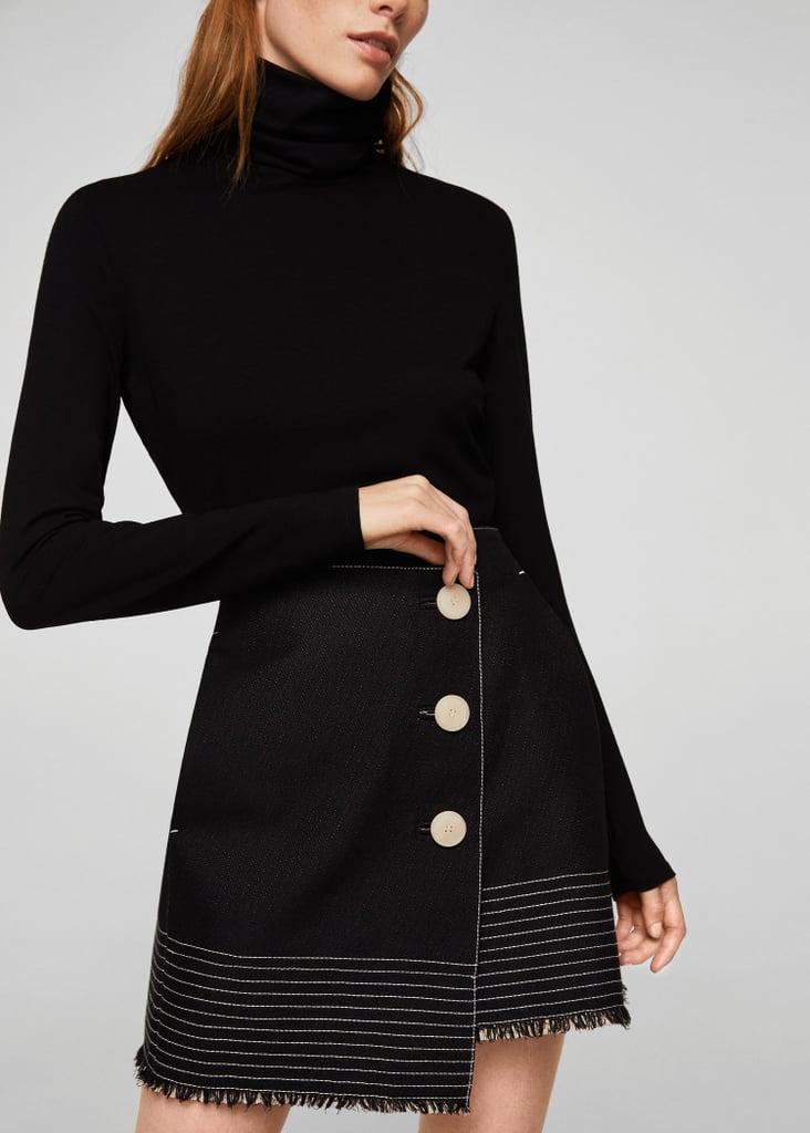 An Asymmetrical Skirt