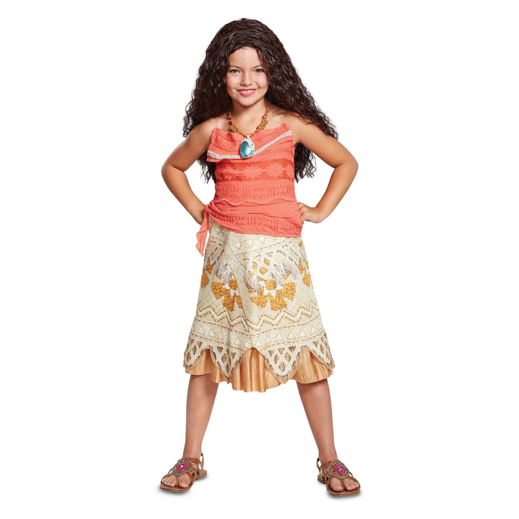 Halloween Costume 38.Girls Disney Princess Moana Classic Halloween Costume Best Target