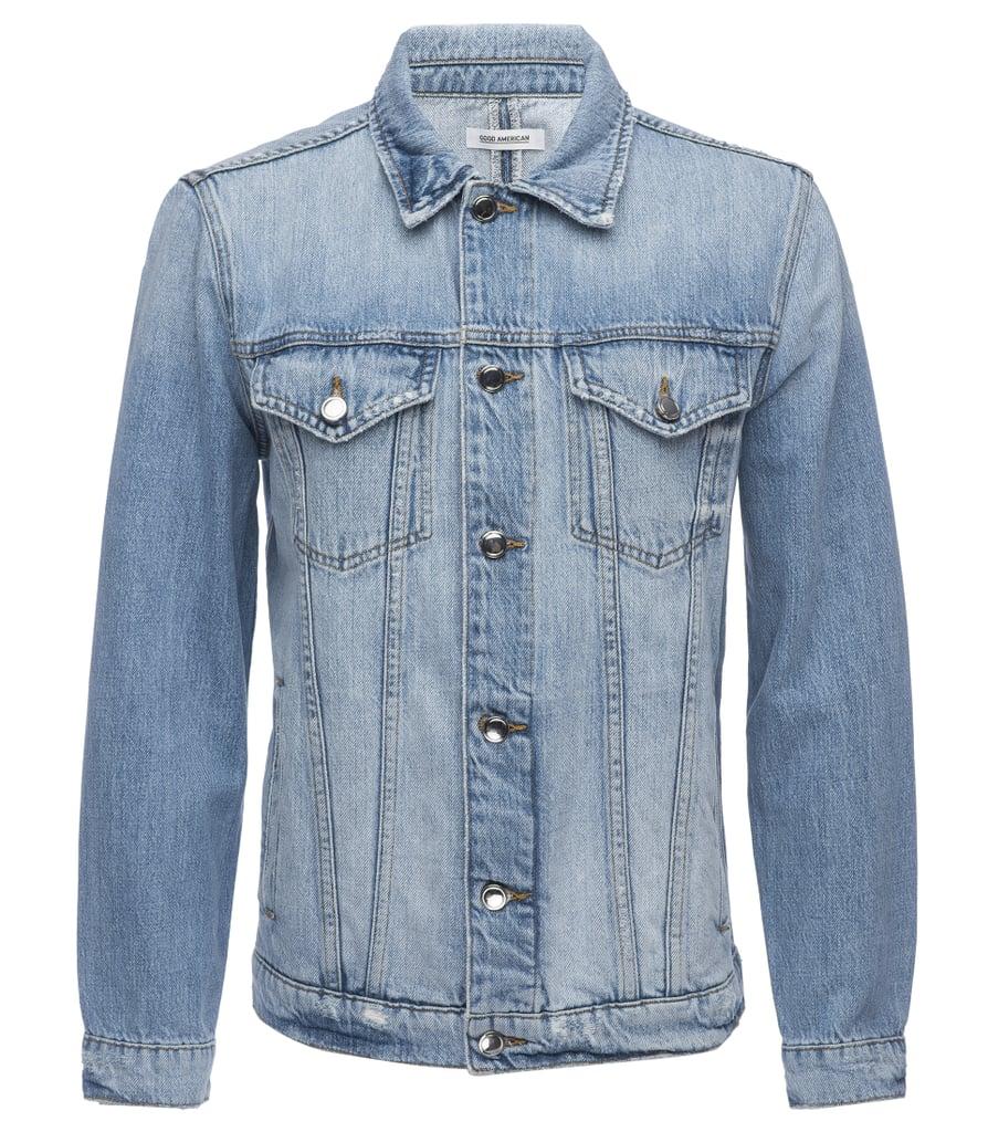 Oversized Denim Jacket ($265)