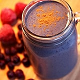 Low-Sugar Berry Cashew Spinach Smoothie