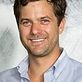 Joshua Jackson gave a smile at the Chanel photocall in Paris.