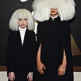 Sia's wig game was next level on the 2015 red carpet.