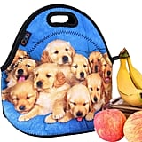 iColor Lovely Small Dogs Neoprene Insulated Waterproof Cooler Lunch Bag