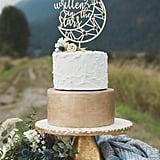 It's Written in the Stars Wedding Cake Topper