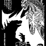 Godzilla faces his own shadow in this poster by MimiJJ ($19-$49 for various sizes) that takes on the look of traditional Japanese woodblock prints.