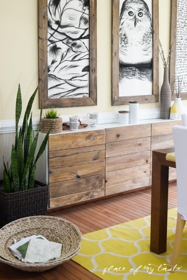 Rustic Sideboard Ikea Besta Hacks Popsugar Home Photo 2