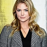 Kate Upton at Chanel Spring 2014.
