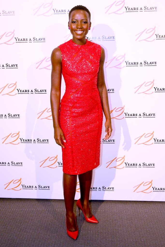 Lupita Nyong'o at the Paris Premiere of 12 Years a Slave