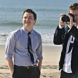Dan Byrd and Brian Van Holt on Cougar Town. Photo copyright 2012 ABC, Inc.