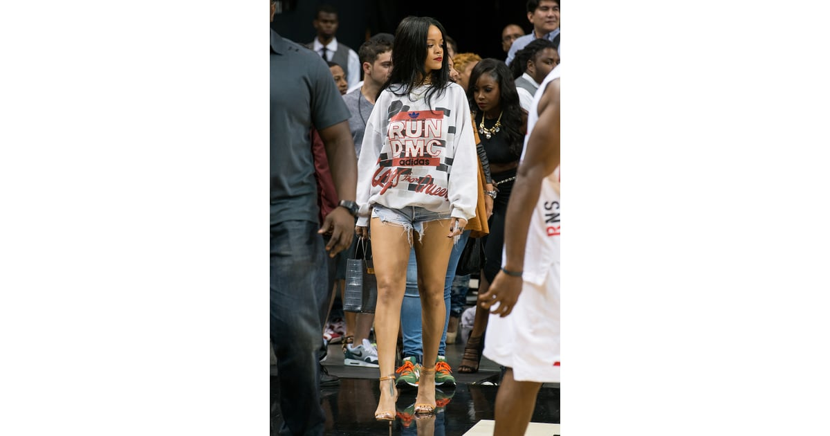Celebrity & Entertainment | Rihanna Sits Courtside at ...