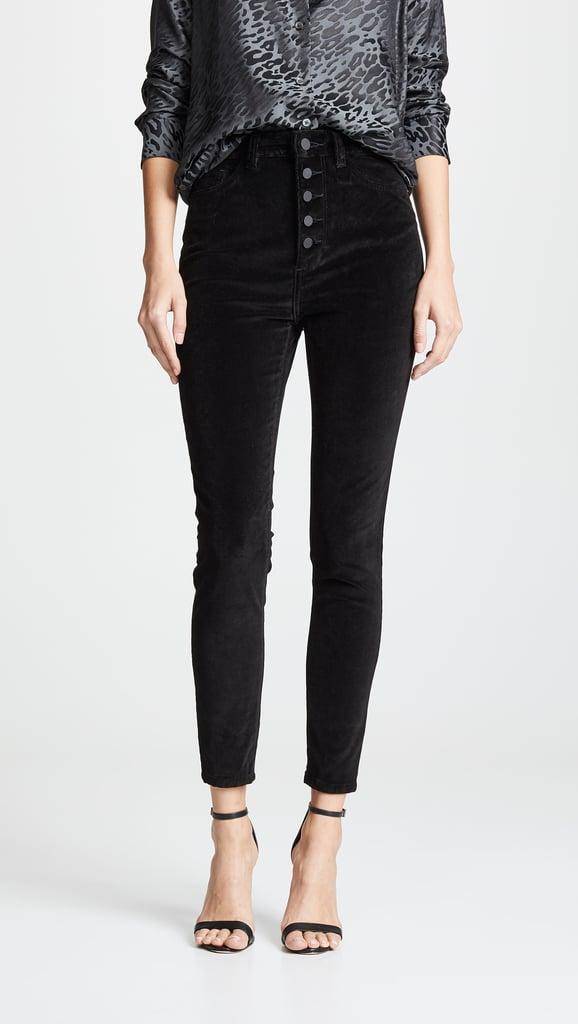 DL1961 Chrissy Velvet Ultra High-Rise Jeans