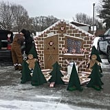 Gingerbread House Trunk