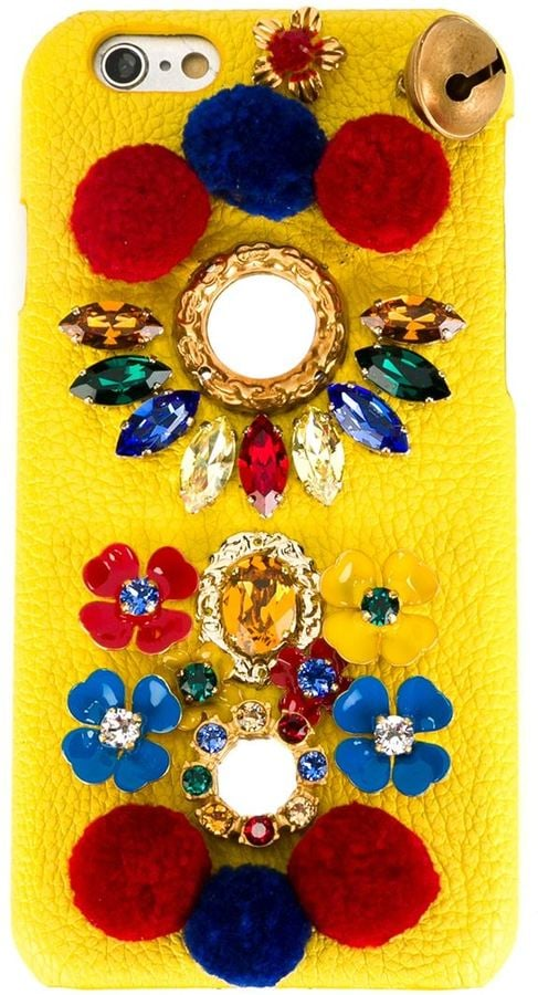 Dolce & Gabbana Embellished iPhone 6 Case ($675)
