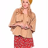 The classic trench made only chicer in a cape-like silhouette.   Forever 21 Cape Trench ($28)