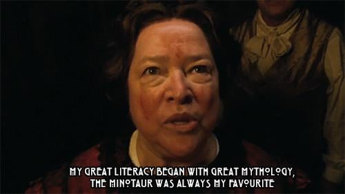 When Kathy Bates created her creepiest character since Annie Wilkes in Misery.