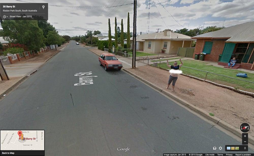 Google Street View Nude Flash