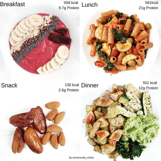 What I Eat in a Day Photo Food Journal
