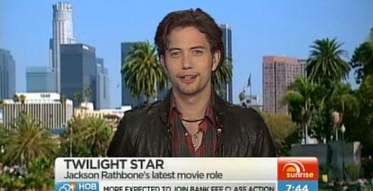 Jackson Rathbone on Sunrise Talks About The Last Airbender and Twilight