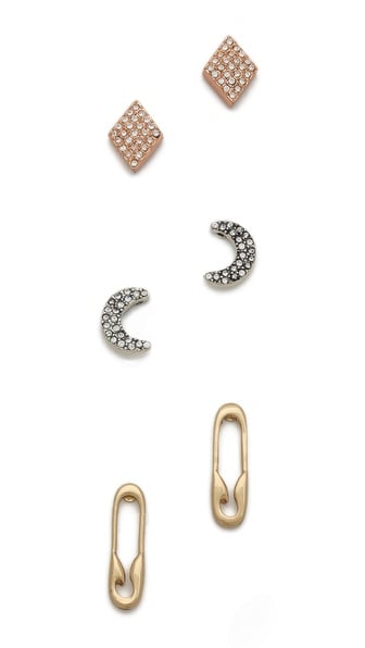 Whether they mix and match or wear them as sets, when you give your friend this Club Monaco Robin Stud Earring Set ($50), you've effectively given them three gifts.