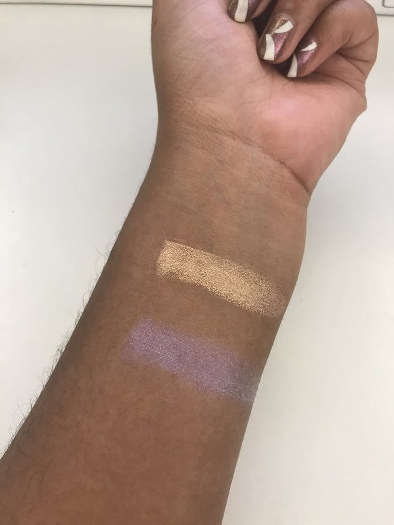 Too Faced Unicorn Horn Mystical Effects Highlighting Stick Swatches