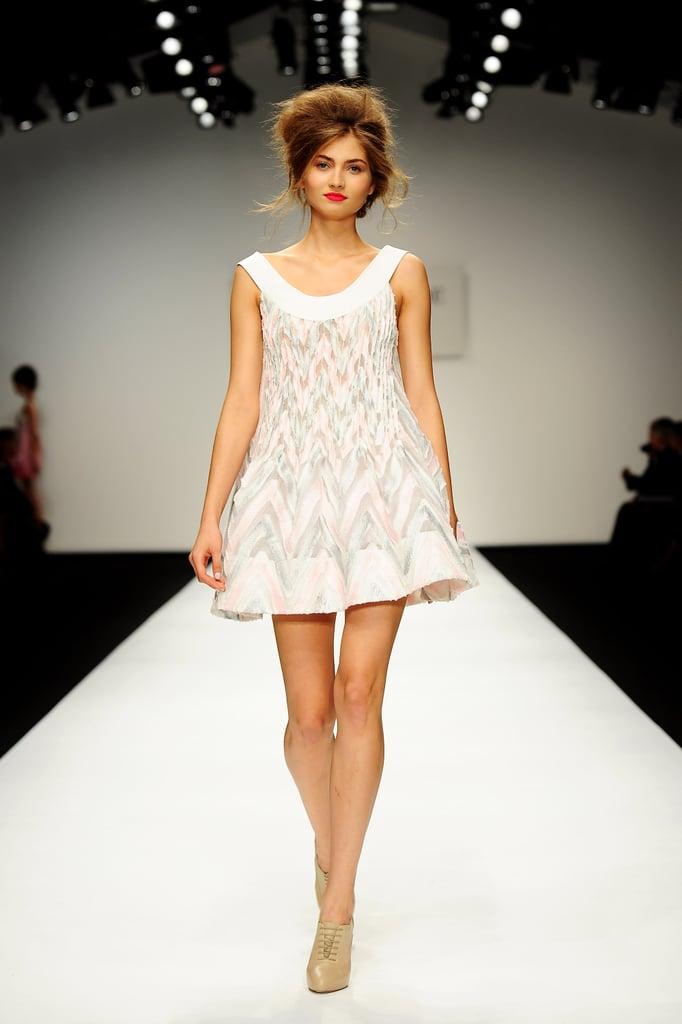 2011 London Fashion Week: Paul Costelloe