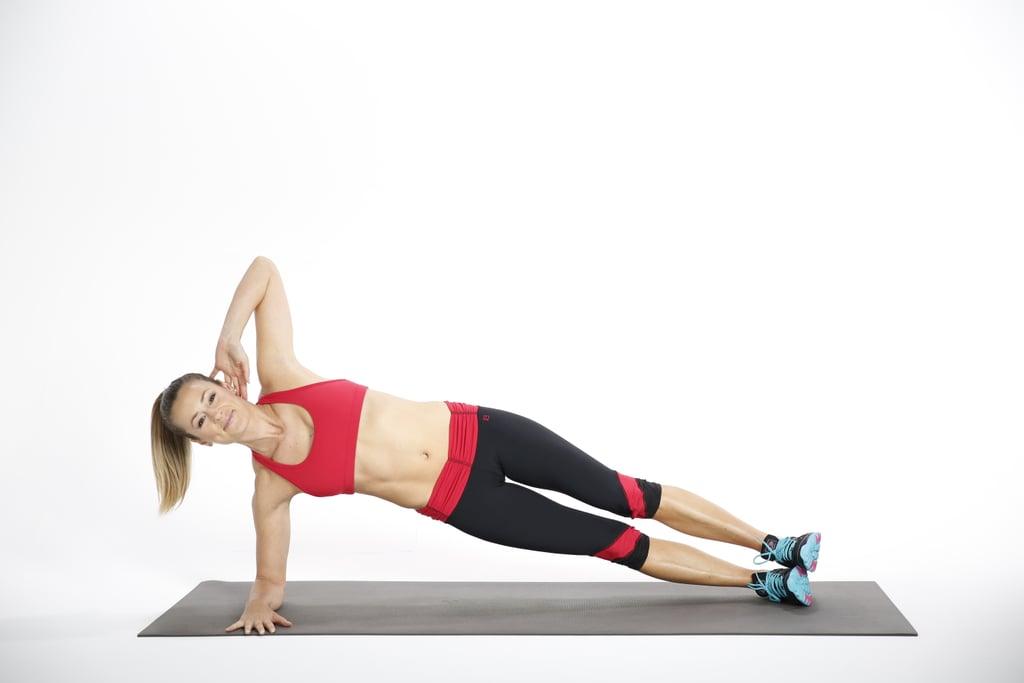 Triset 2, Exercise 3: Elbow Side Plank