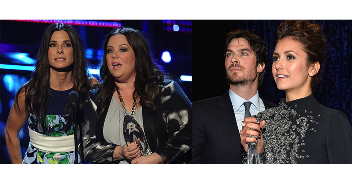 Winners At People's Choice Awards 2014