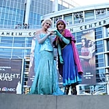Elsa and Anna — Frozen