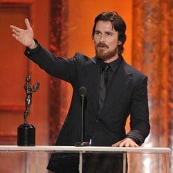 Christian Bale Wins the Screen Actors Guild Award For Outstanding Performance by a Male Actor in a Supporting Role 2011-01-30 18:37:33